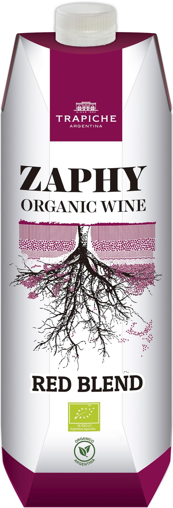 Trapiche Zaphy Organic 2016 kartonkitölkki