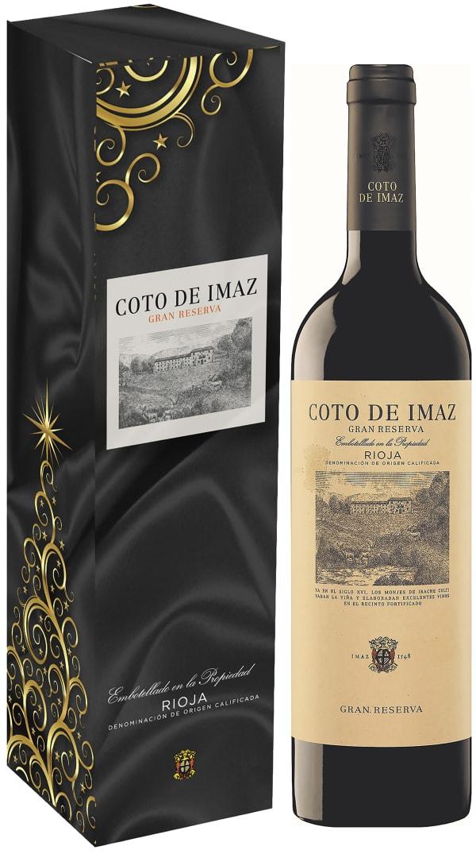 Coto de Imaz Gran Reserva 2011 lahjapakkaus