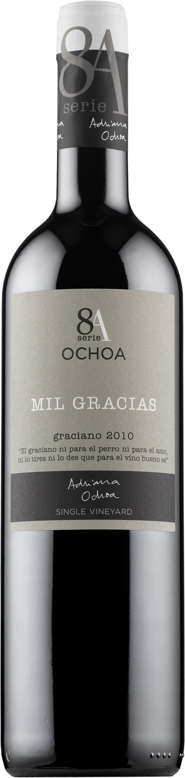 Ochoa Mil Gracias Graciano 2012