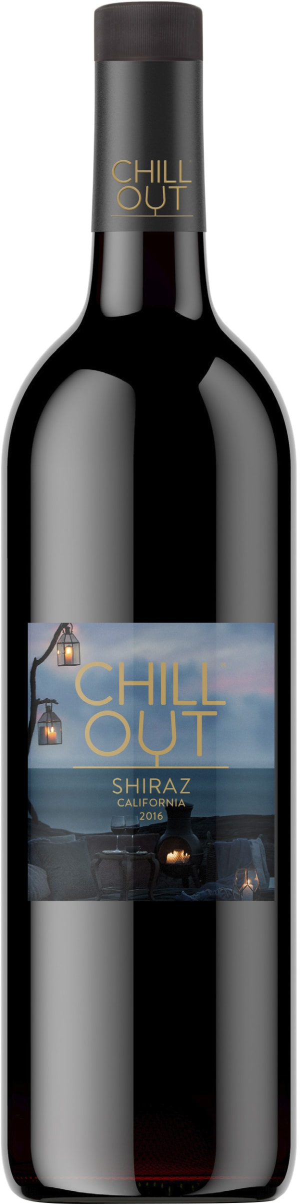 Chill Out Dark & Generous Shiraz 2016 muovipullo