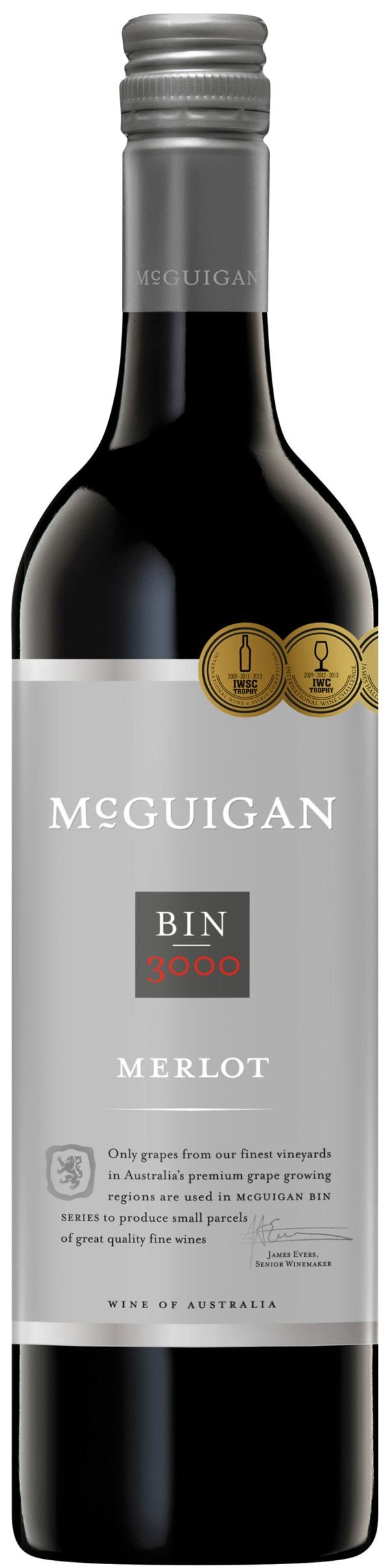 McGuigan Bin 3000 Merlot 2014