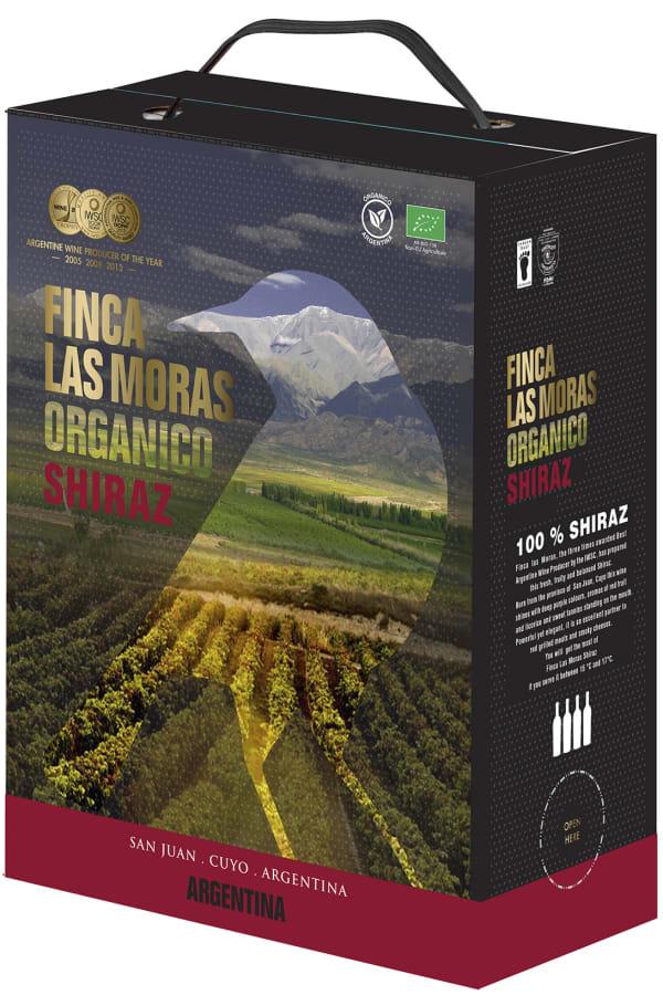 Finca Las Moras Organico Shiraz 2016 hanapakkaus