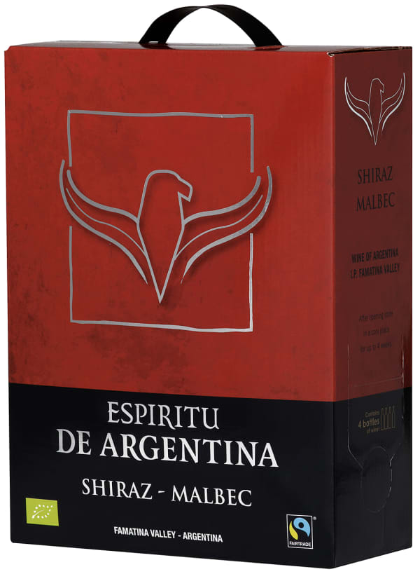 Espíritu de Argentina Shiraz Malbec  bag-in-box