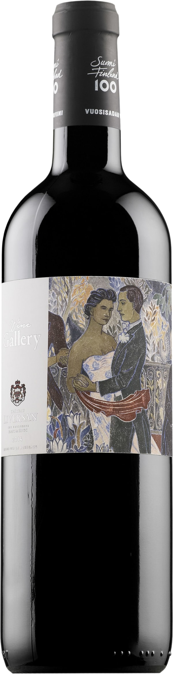 Wine Gallery Suomi Finland 100 Bordeaux Rouge 2014