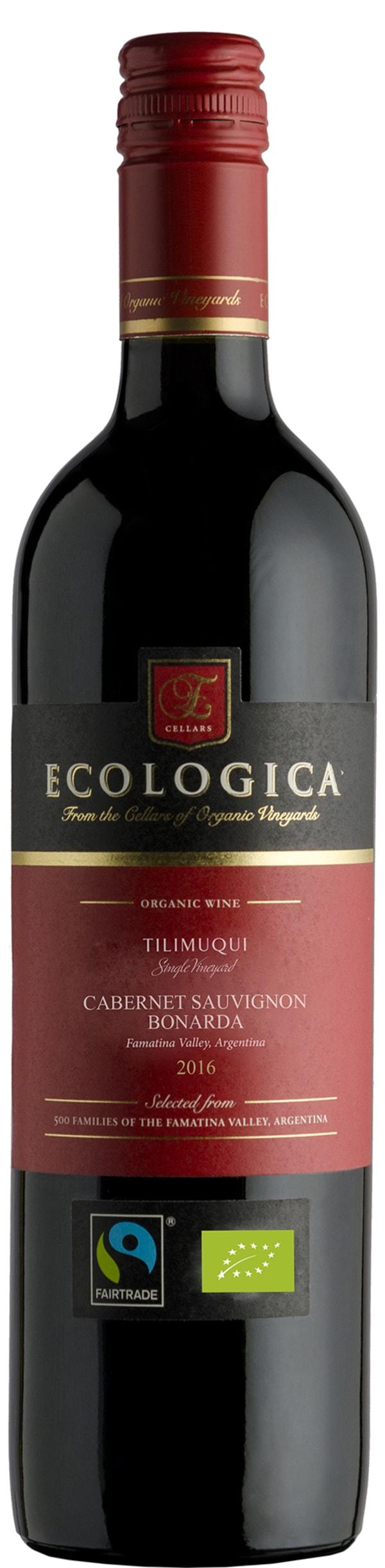 Ecologica Tilimuqui Single Vineyard Cabernet Sauvignon Bonarda  2016
