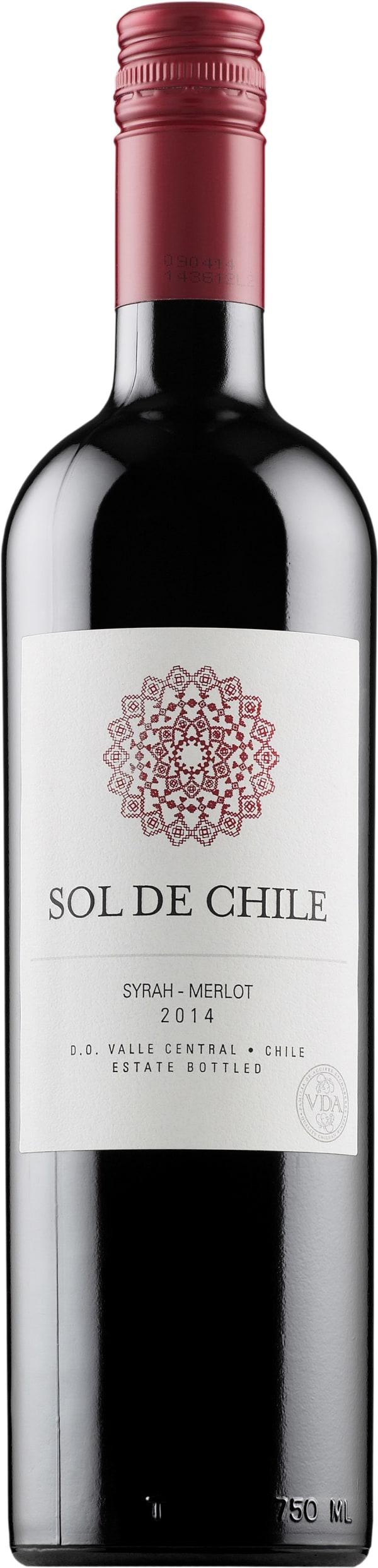 Sol de Chile Syrah Merlot 2016
