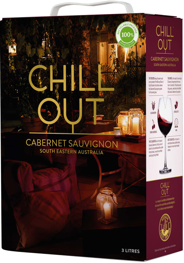 Chill Out Smooth & Soft Cabernet Sauvignon 2017 bag-in-box