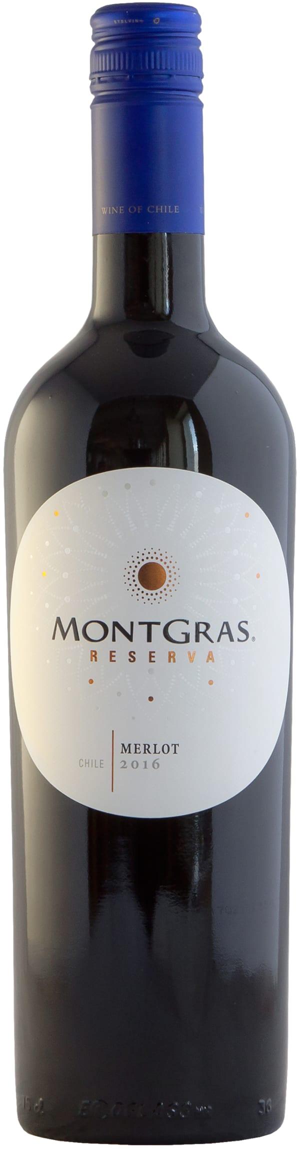 MontGras Merlot Reserva 2015