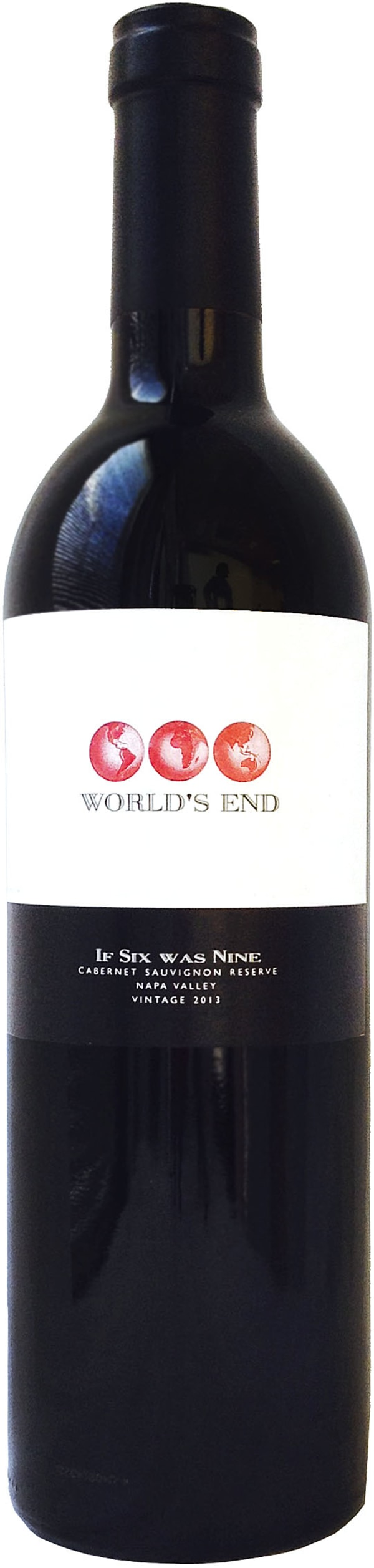 Worlds End If Six Was Nine Cabernet Sauvignon Reserve 2013 2013
