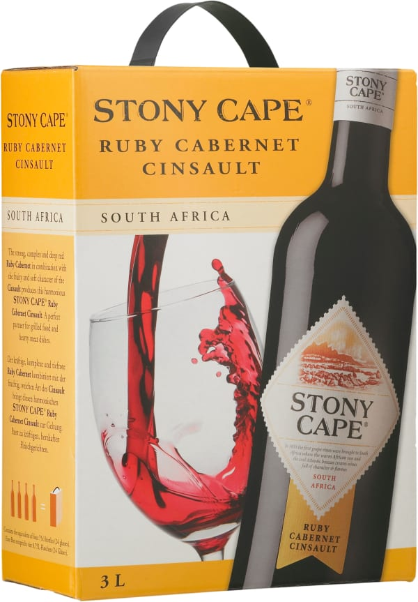 Stony Cape Cinsault Ruby Cabernet bag-in-box