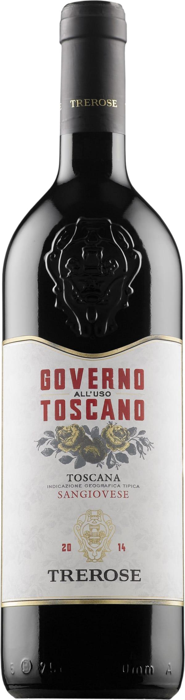 Tre Rose Governo all'Uso Toscano 2014