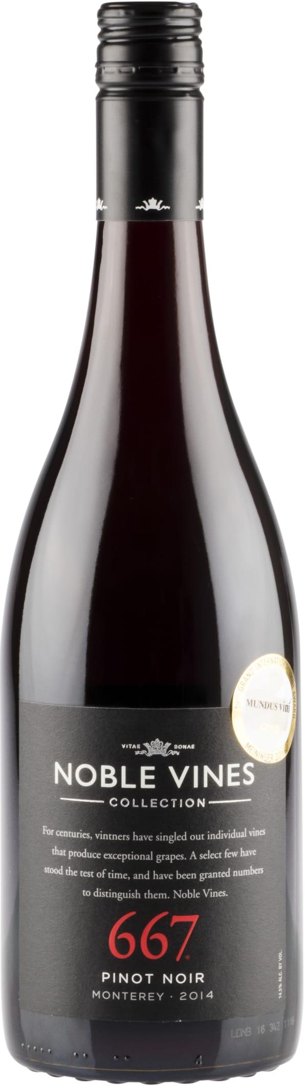Noble Vines 667 Pinot Noir 2014