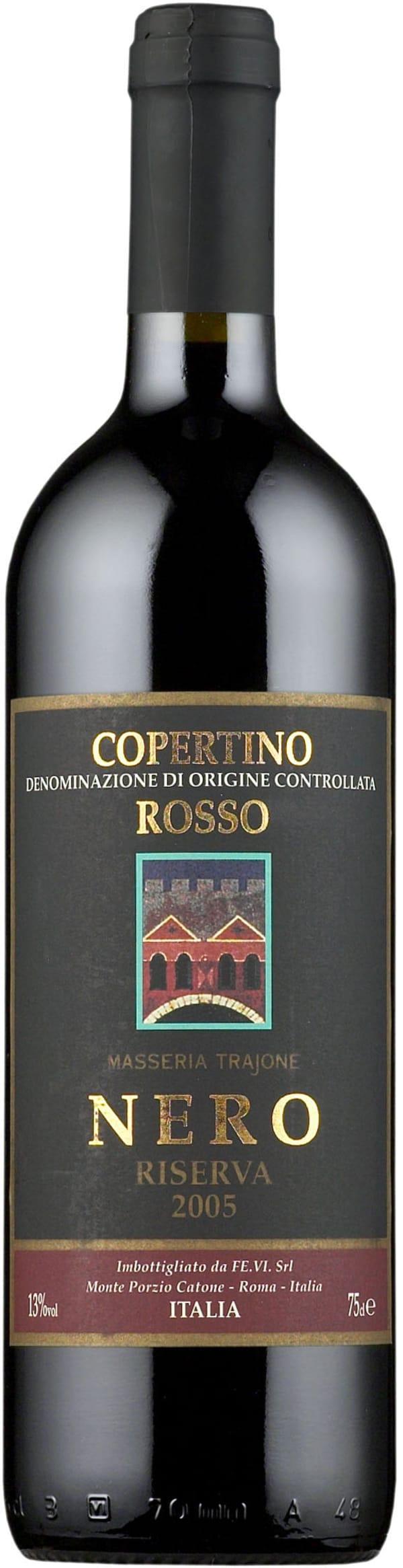 Nero Copertino Riserva 2012