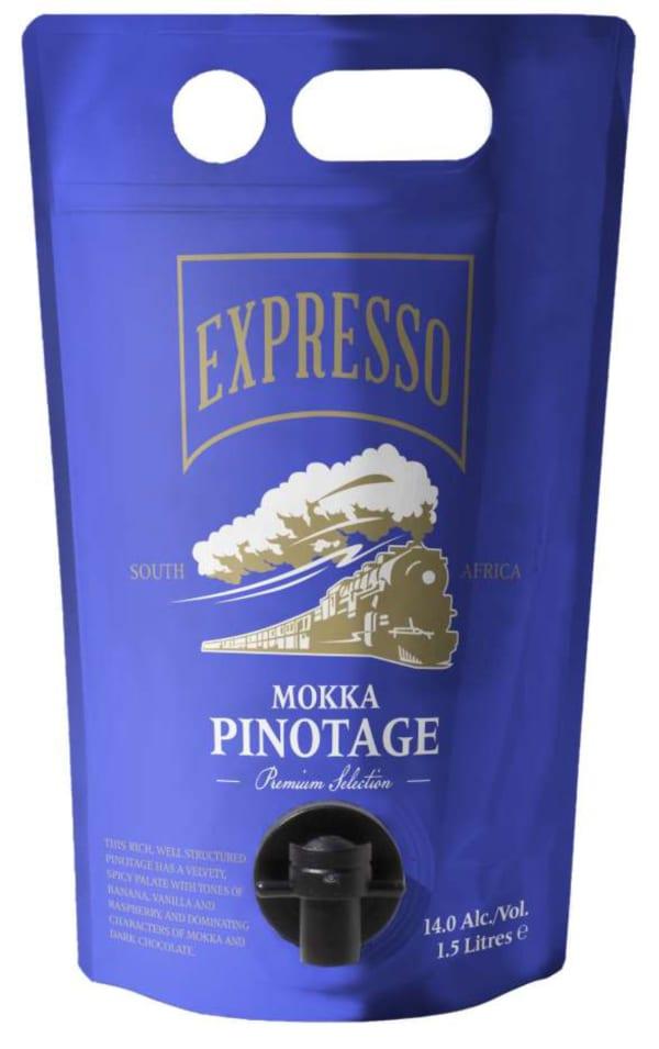 Expresso Mokka Pinotage 2016 wine pouch