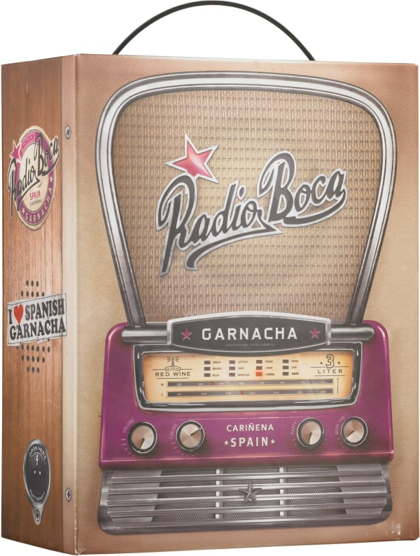 Radio Boca Garnacha 2015 bag-in-box