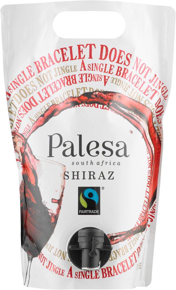 Palesa Shiraz 2016 wine pouch