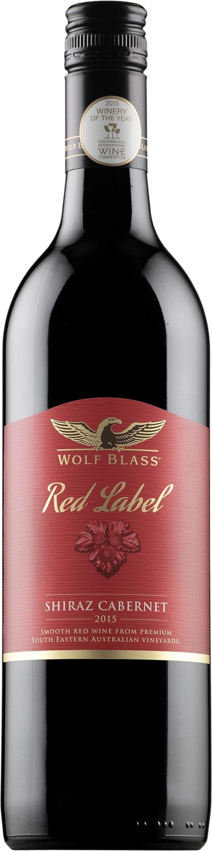 Wolf Blass Red Label Shiraz Cabernet 2016