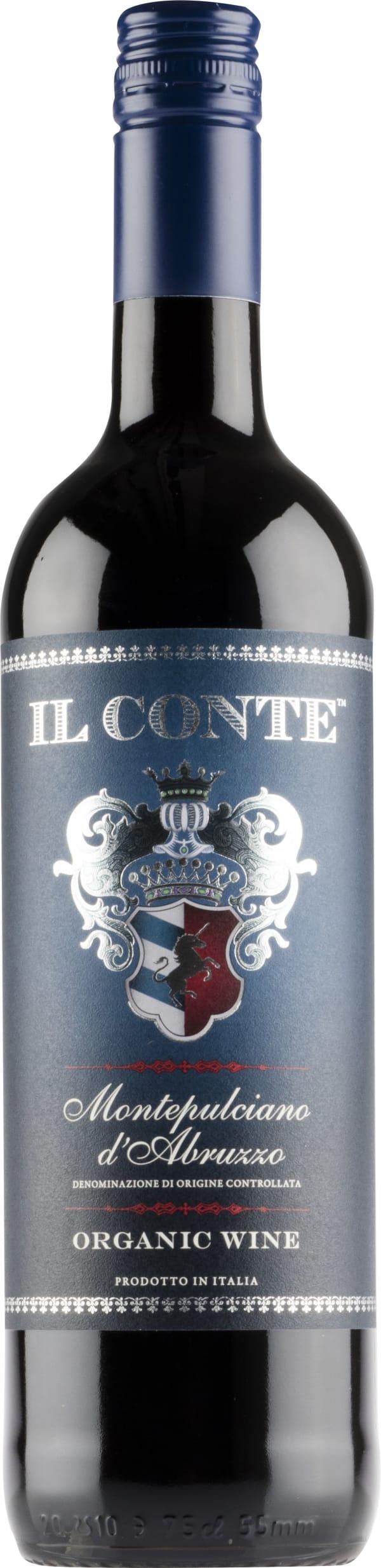 Il Conte Montepulciano d'Abruzzo Organic 2015