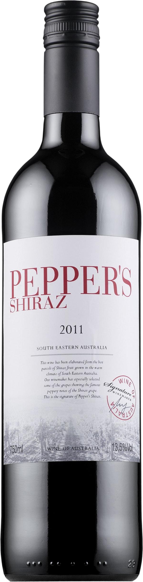 Pepper's Shiraz 2014