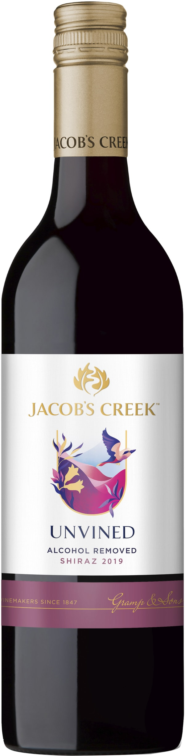 Jacob's Creek UnVined Shiraz 2016
