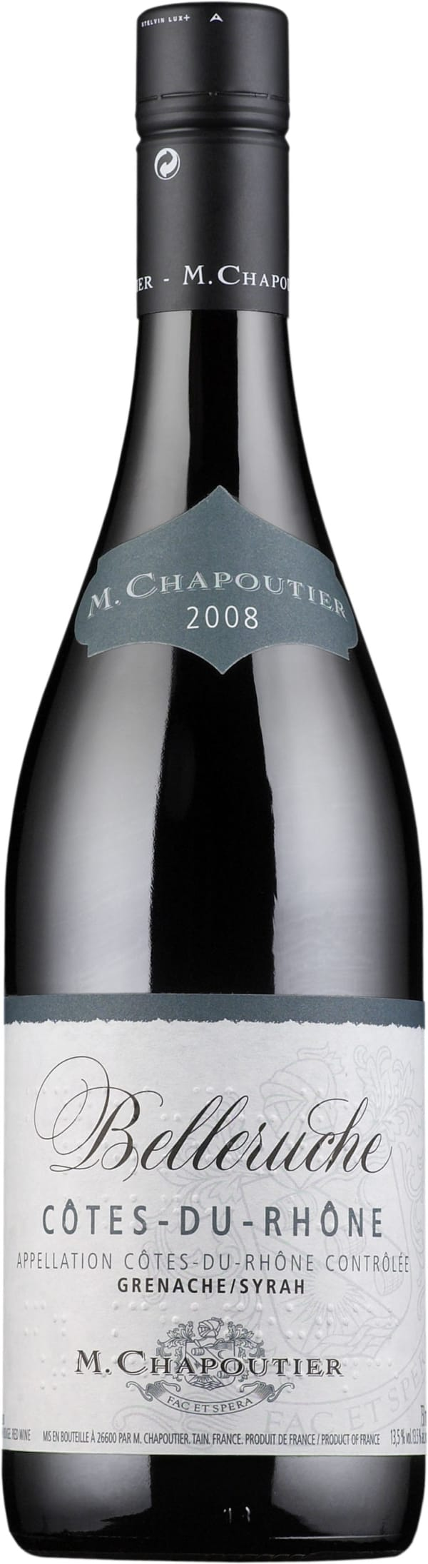 Chapoutier Belleruche Rouge 2015