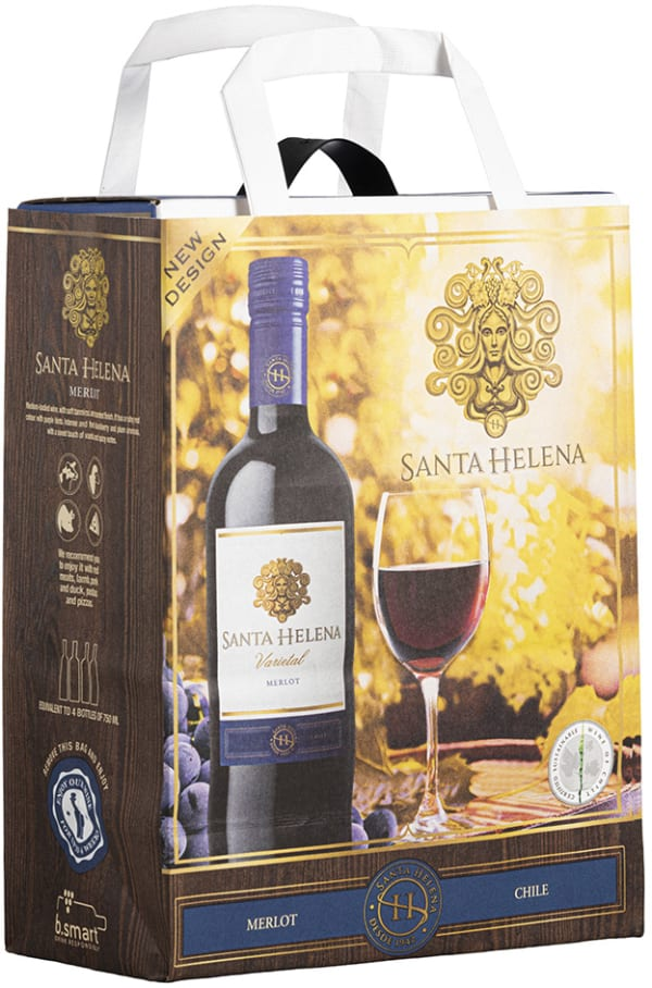 Santa Helena Merlot 2017 bag-in-box