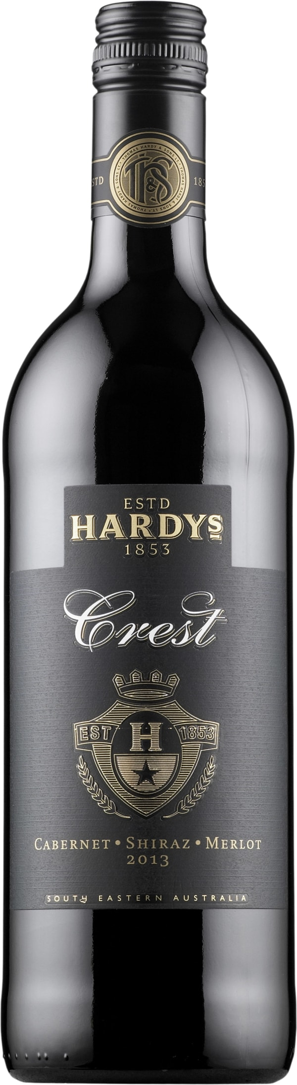 Hardys Crest Cabernet Shiraz Merlot 2016