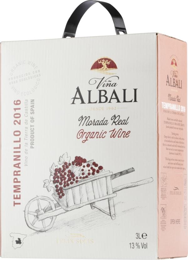 Viña Albali Morada Real Tempranillo Organic 2016 lådvin