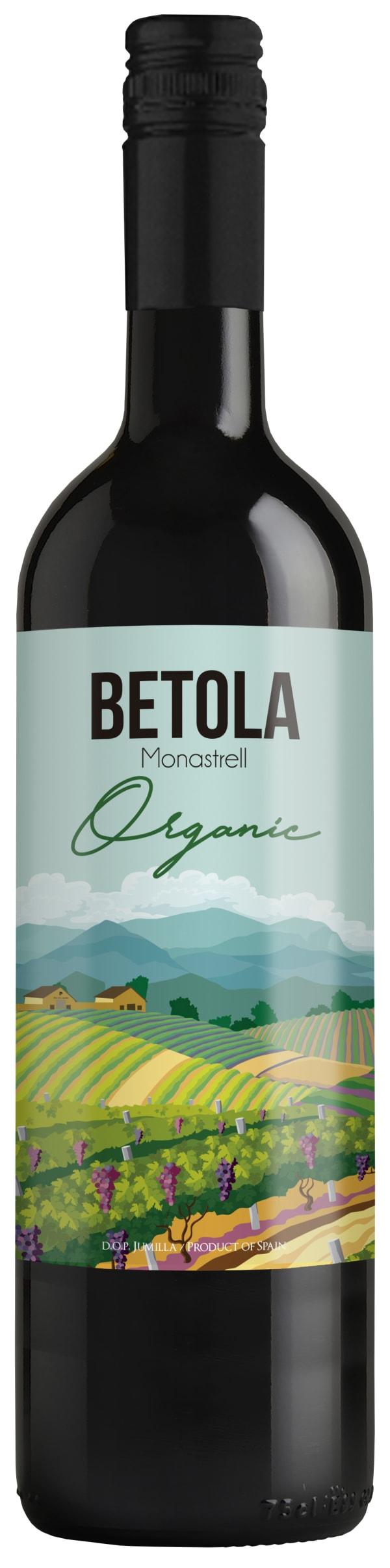 Betola Organic Monastrell 2016