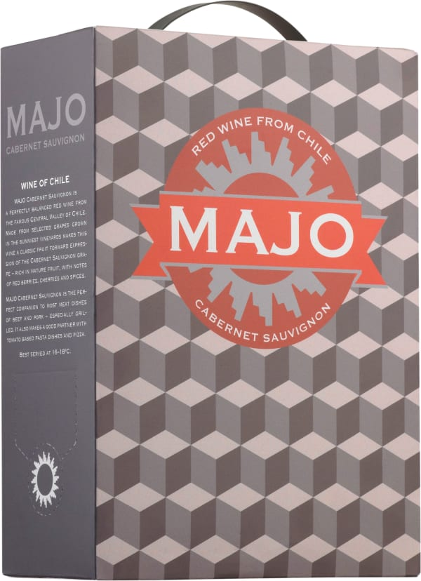 Majo Cabernet Sauvignon 2015 bag-in-box