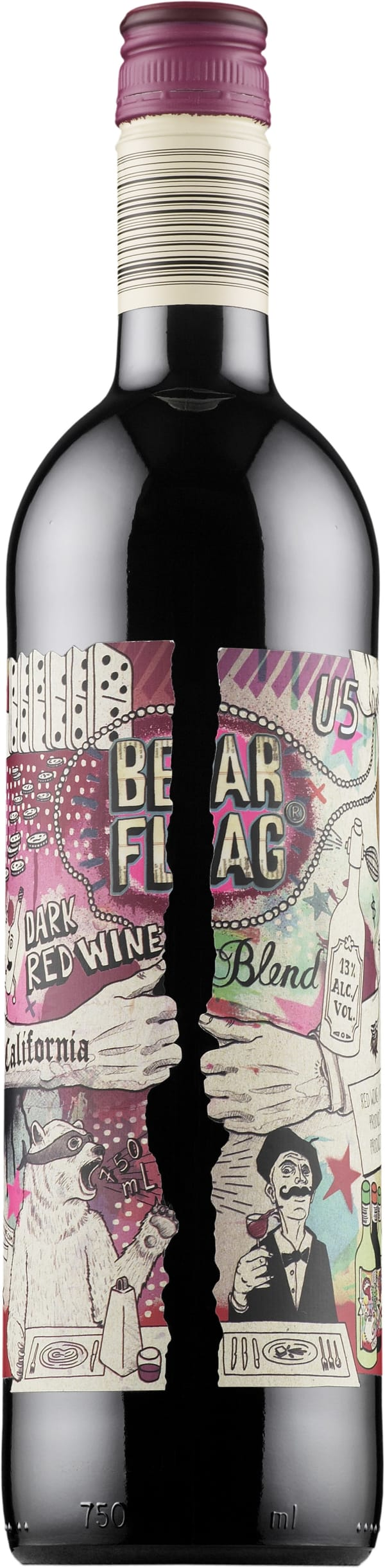 Bearflag Dark Red Wine Blend
