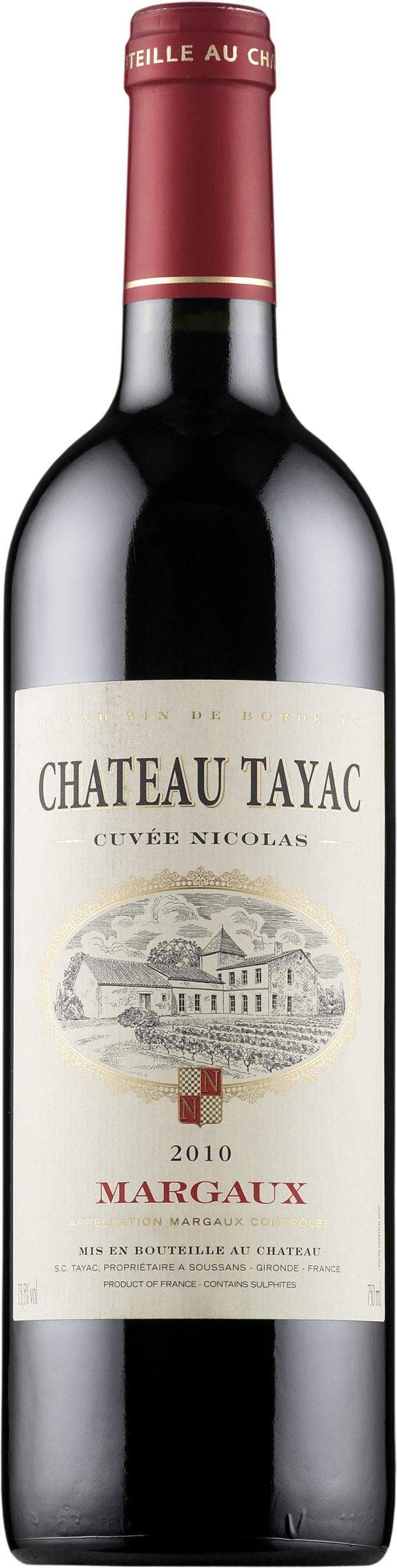Château Tayac Cuvée Nicolas 2012