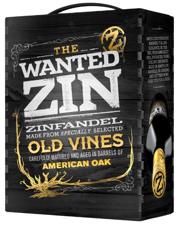 The Wanted Zin 2016 bag-in-box