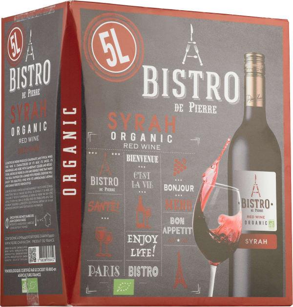 Le Bistro de Pierre Organic Syrah 2015 bag-in-box