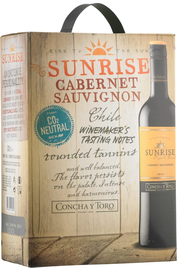 Sunrise Cabernet Sauvignon 2016 lådvin