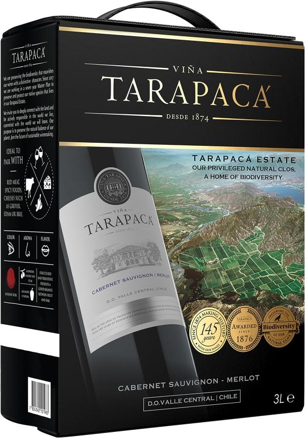 Tarapacá Cabernet Sauvignon Merlot 2017 lådvin