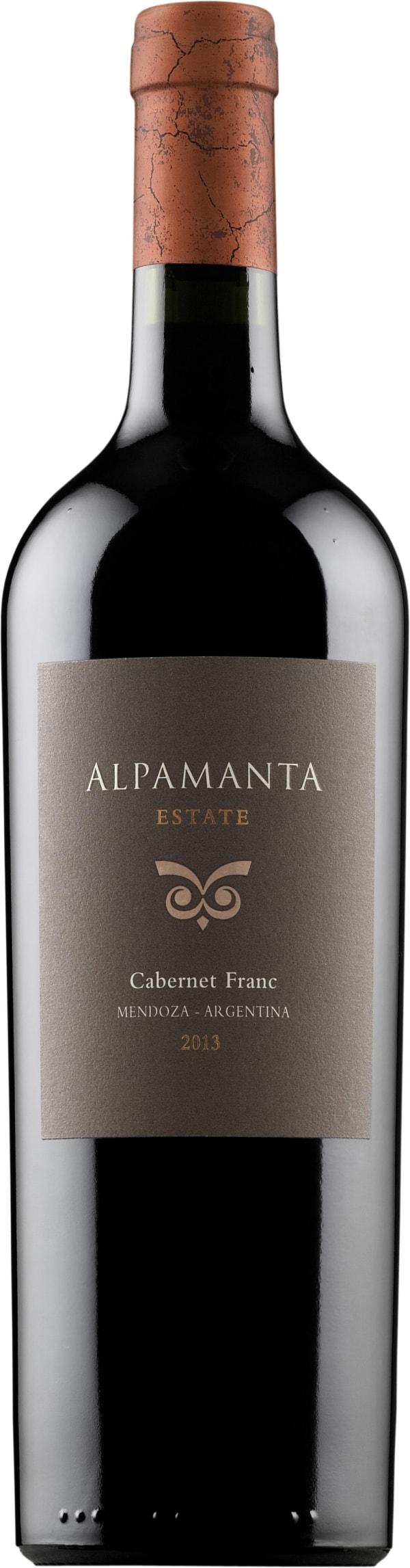 Alpamanta Estate Cabernet Franc 2013