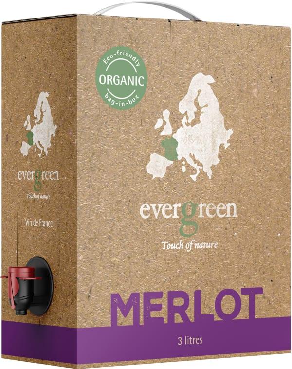 Evergreen Organic Merlot 2015 bag-in-box