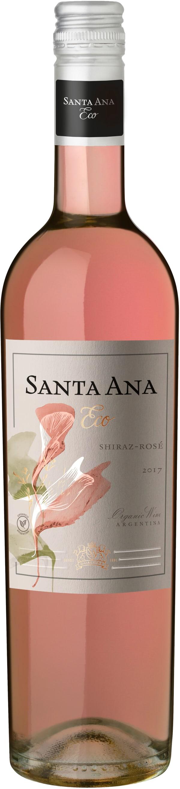 Santa Ana Organic Shiraz Rosé 2016