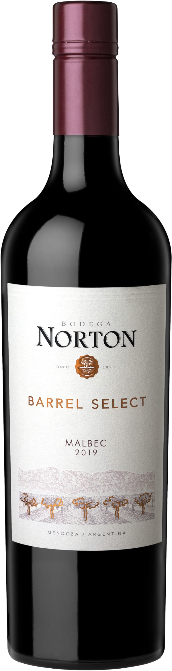Norton Barrel Select Malbec 2015