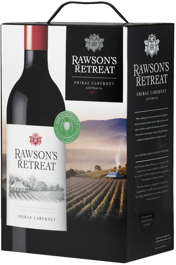 Rawson's Retreat Shiraz Cabernet 2016 bag-in-box