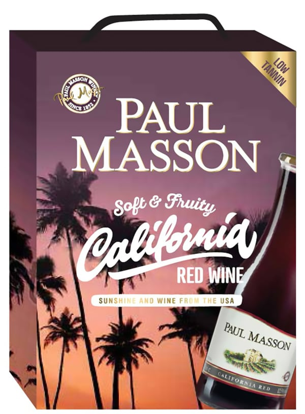 Paul Masson California Red  hanapakkaus