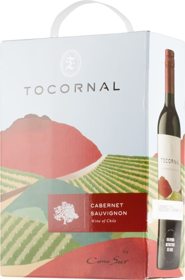 Cono Sur Tocornal Cabernet Sauvignon 2016 bag-in-box