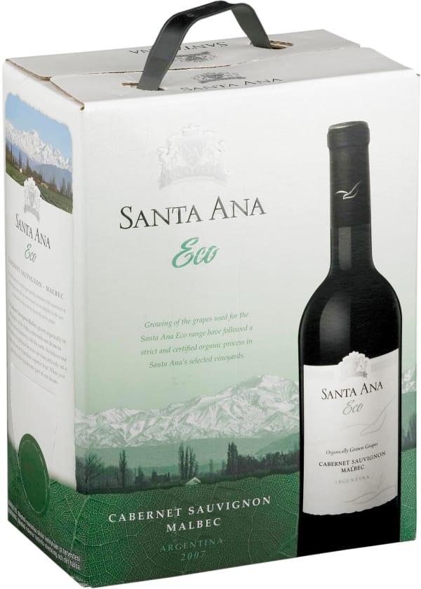 Santa Ana Eco Organic Cabernet Sauvignon Malbec 2016 bag-in-box