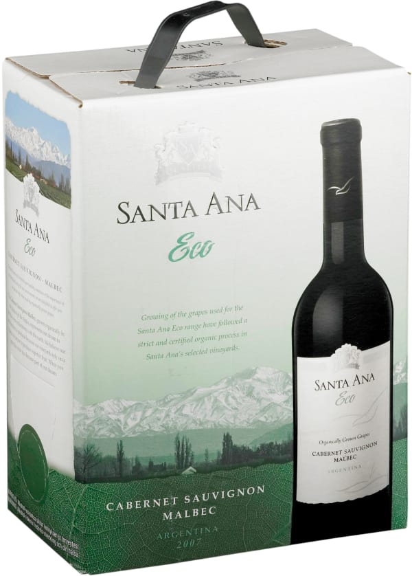 Santa Ana Eco Organic Cabernet Sauvignon Malbec 2016 hanapakkaus