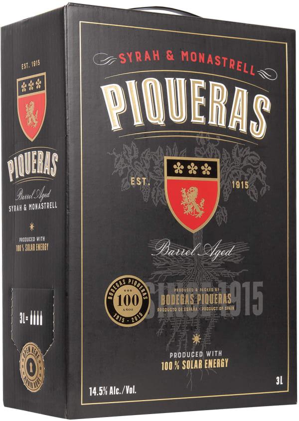 Piqueras Syrah Monastrell 2016 bag-in-box