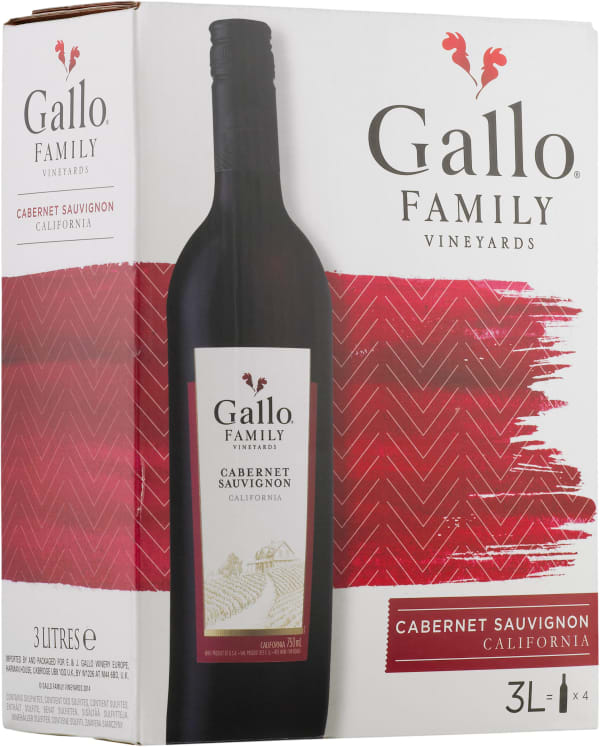 Gallo Family Vineyards Cabernet Sauvignon 2015 lådvin