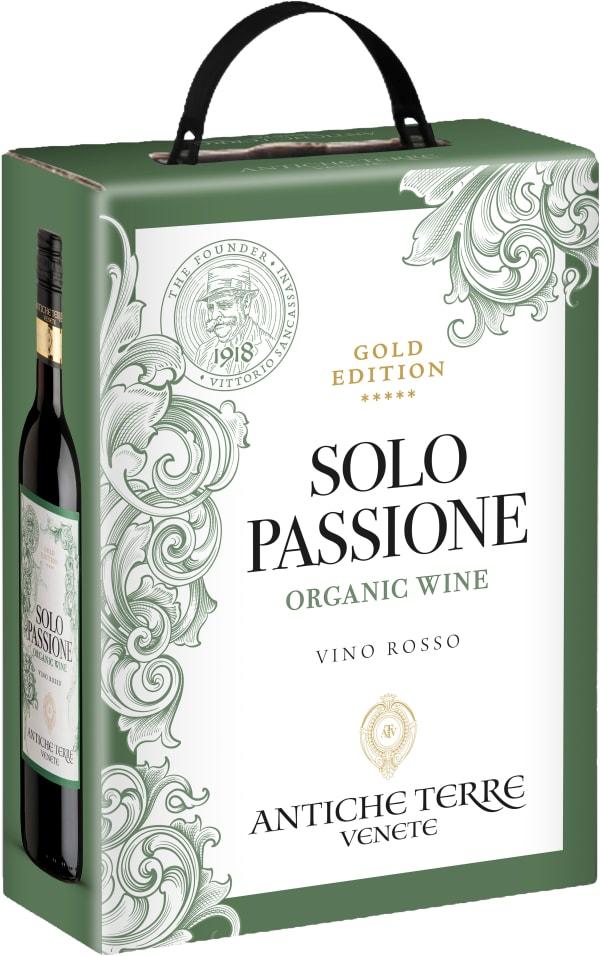 Antiche Terre Solo Passione Rosso 2015 lådvin