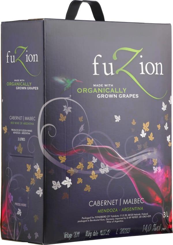 Fuzion Cabernet Malbec Organic 2015 hanapakkaus