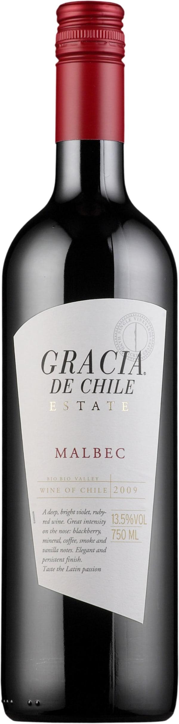 Gracia de Chile Malbec 2015